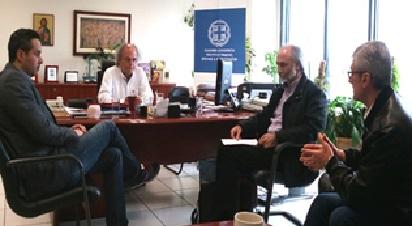 Συνάντηση με τον Περιφερειακό Διευθυντή Εκπαίδευσης Κεντρικής Μακεδονίας
